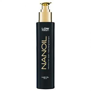 Olejek do włosów niskoporowatych Nanoil